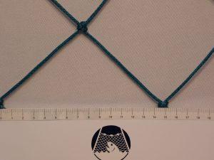 Fußballnetz, Polyethylen 100/3 mm grün