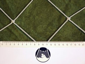 Fußballnetz PET 100/3 mm weiß