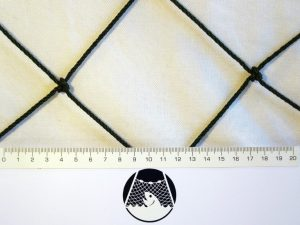 Ranknetz PET 100/3,0 mm dunkelgrün – geknotet
