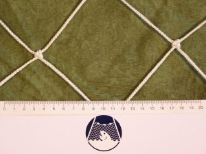 Deko-Netz aus Polypropylen 100/3,0 mm weiß