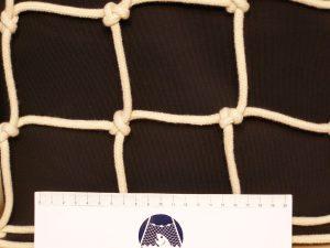 Netzstoff handgeflochten Baumwolle 80/7 mm