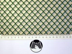 Netzstoff Polyamid Nylon Raschel industriell 10×10/ 1,8 mm PAD grün