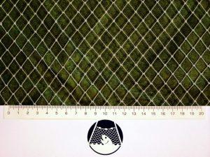 Volierennetz für Kleinvögelzucht PET 12/0,7 mm transparent