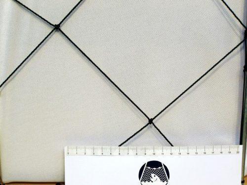 Schutznetze für Mülldeponie Flächenabdeckung  (horizontal) PET 150/ 2,0 mm dunkelgrün - 1