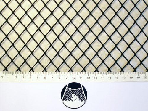 Netzstoff Polyamid Nylon Raschel industriell 15×15/ 1,4 mm PAD schwarz - 1