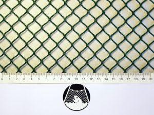 Indoor Golfnetz, Nylon 15/2,0 mm grün