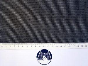 Netzstoff Polyester knotenlos industriell 1×1/0,5 mm schwarz