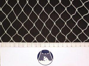 Absperrnetz – Zaun 20×20/1,4 mm PAD weiß geknotet/ 1,5m