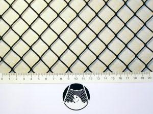 Netzstoff Polyamid Nylon Raschel industriell 20×20/ 1,4 mm PAD schwarz