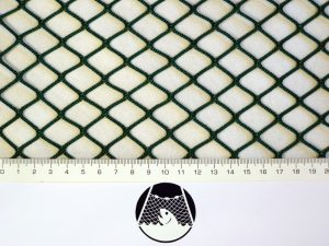Netzstoff Polyamid Nylon Raschel industriell 20×20/ 2,1 mm PAD grün
