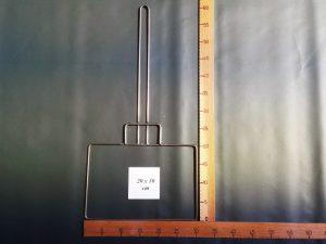 Kescherbügel Edelstahldraht 20×30 cm
