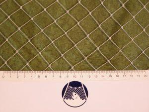 Volierennetz für Kleinvögelzucht PET 22/0,9 mm transparent