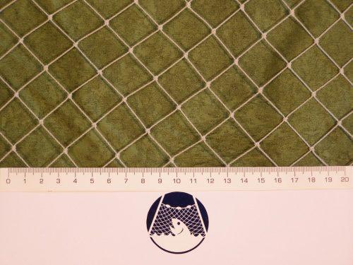 Volierennetz für Kleinvögelzucht PET 22/0,9 mm transparent - 1