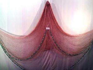 Fang – Wurfnetz 2,5m PAD 25 mm braun