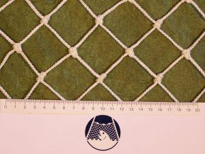 Netzstoff Polyprophylen (PPV) geknotet industriell 40×40/3,0 mm