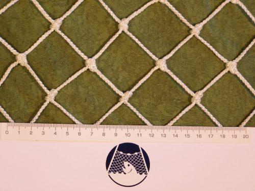 Schutznetz N 2,5 x 17 m, Polypropylen 40/2,0 mm weiß, geknotet - 1