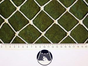 Deko-Netz aus Polypropylen 40/3,0 mm weiß