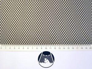 Netzstoff Polyamid Nylon Raschel industriell 4×4/ 0,6 mm PAD schwarz
