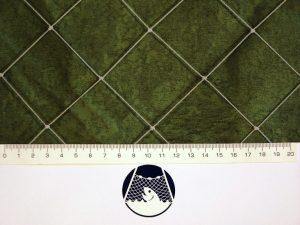 Schutz – Netzstoff, geknotet, Polyethylen – multifil (PET) 45×45/2,7 mm grün