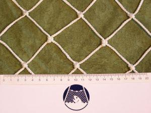 Hallensport mit kleinem Ball – Hockeyball, Lacross, Floorball, Badminton PPV 50/3,0 mm weiß