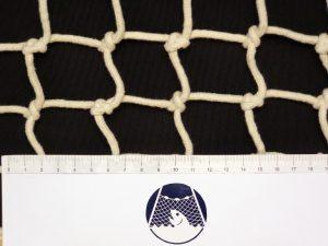 Netzstoff handgeflochten Baumwolle 60/4 mm