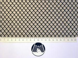 Netzstoff Polyamid Nylon Raschel industriell 8×8/ 1,2 mm PAD schwarz