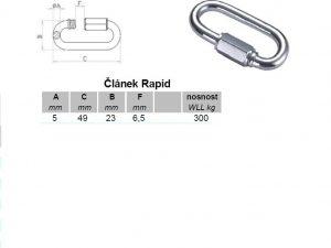 Verbinder Rapid 8 mm verzinkt - 2