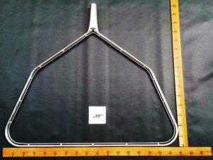 Kescherbügel eckig  Stahl verzinkt 80 cm