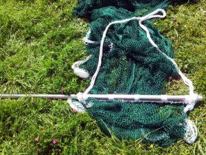 Wadennetz für Fischbehälter 4 x 3 m/ PAD 20/2,1 mm verstärkt