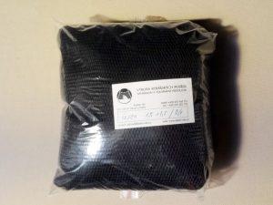 Senknetz 1,5 x 1,5 m/ Nylon 4×4/0,6 mm schwarz knotenlos