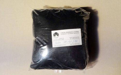 Senknetz 1,5 x 1,5 m/ 4×4/0,6 mm PAD schwarz knotenlos - 1