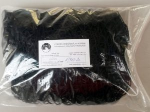 Senknetz 2 x 2 m/ Nylon 20×20/1,2 mm schwarz knotenlos