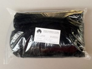Senknetz 2 x 2 m/ Nylon 5×5/0,6 mm schwarz knotenlos