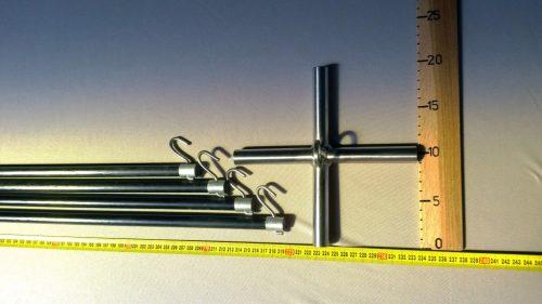 Konstruktion für Senknetz 2,5 x 2,5/ 14 mm - 1