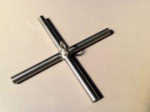 Kreuz für Senknetzkonstruktion 2,0 x 2,0m
