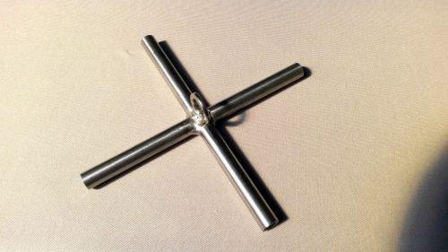 Kreuz für Senknetzkonstruktion 1,5 x 1,5m - 1