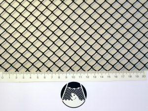Netzstoff Polyamid Nylon Raschel industriell 10×10/ 1,4 mm PAD dunkelgrün