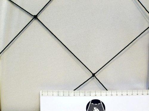 Schutznetz für die Aufzucht von Hühnern und kleinen Hausvögeln, Polyethylen 150/2,0 mm dunkelgrün - 1