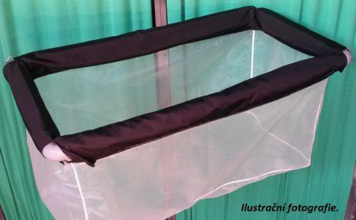 Schwimmendes Hälterungsnetz aus Uhelon 150 x 150 x 100 cm/ 340 µm - 1