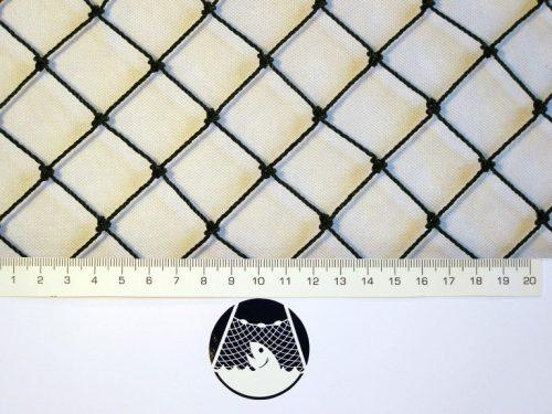 Volierennetz für Kleinvögelzucht PET 27/1,5 mm schwarz - 1