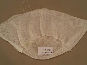 Keschernetz 45 cm/ 2×2 mm PAD