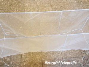 Hälterungsnetz aus Uhelon 50 x 100 x 50 cm/ 176 µm