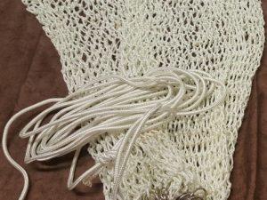 Keschernetz für mechanischen Kescher Ø 70 cm PAD 30/3 mm – handgeflochten