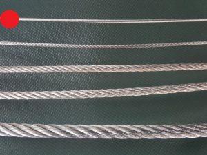 Stahlseil Ø 2 mm verzinkt