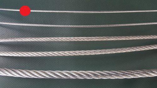 Stahlseil Ø 2 mm verzinkt - 1