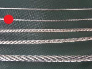 Stahlseil Ø 3 mm verzinkt