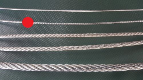 Stahlseil Ø 3 mm verzinkt - 1