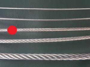 Stahlseil Ø 4 mm verzinkt