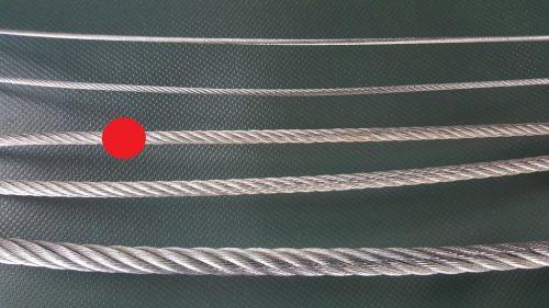 Stahlseil Ø 4 mm verzinkt - 1