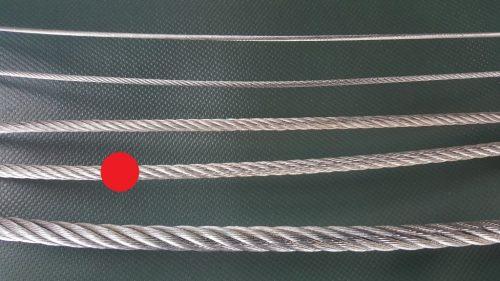 Stahlseil Ø 6 mm verzinkt - 1